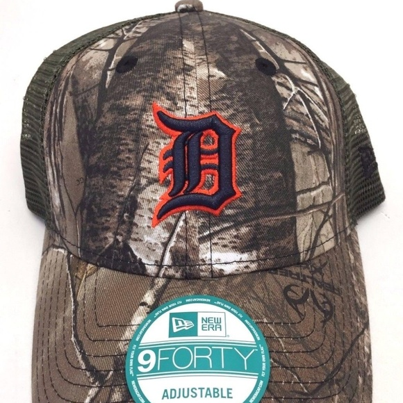 f931c4b904231 Men s New Era 9FORTY Detroit Tigers Camouflage Hat